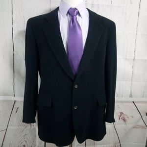 Jos A Bank Gordon 100% Camel Hair 44L Suit Blazer